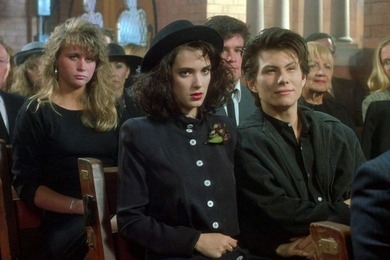 """While Winona Ryder was overjoyed to be cast as Veronica in Heathers  , her agent begged her not to take the controversial role. -  """"My agent at the time literally got on her knees and begged me not to do [the movie],""""  Ryder  said."""