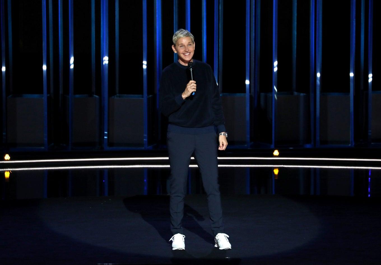 DeGeneres in her latest Netflix special, Relatable.