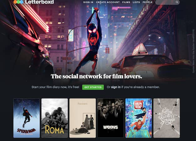 You can like, rate, and review films, curate lists, and put together a top four based on your interests.Plenty of professional film reviewers use the app, as do lots of fans. The platform pretty much allows anyone to get attention for talking about films they love or hate. It's free, but users can pay for Pro or Patreon accounts, which give them things like extra stats or filters.