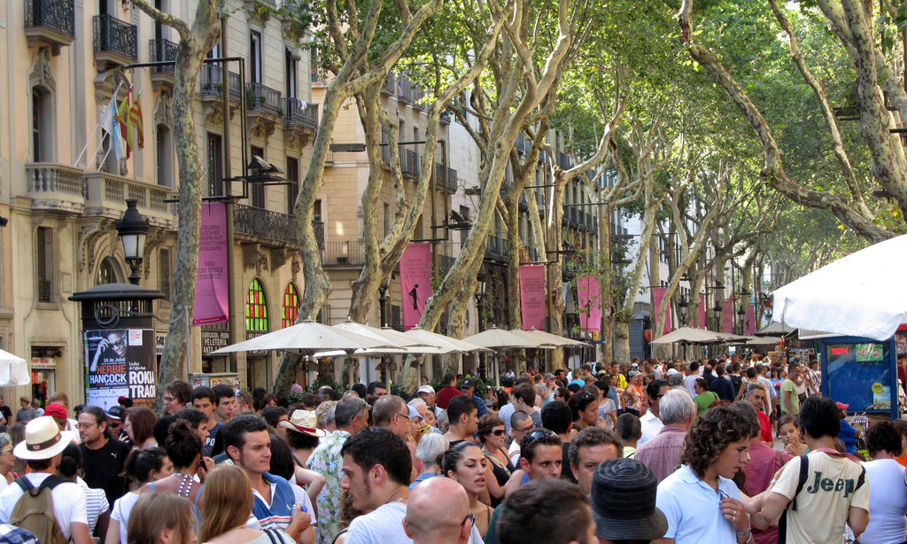 """""""It's just a street and it's not worth it to spend time there. Overpriced restaurants, fully packed with people and also there's pickpockets.""""—sarabeltran""""The most famous street in Spain and perhaps the world, La Rambla is the biggest let down in Barcelona. The 1.2km street connecting Plaça Catalunya to the Port was once famed for buskers, artists, and beautiful stores. Now it's a hotspot for pickpockets, rip-off touristic restaurants, and a hub of chaos. Skip this street and instead venture to Rambla de Catalunya where you'll definitely feel like a local (and be treated like one too).""""—corbmacm"""