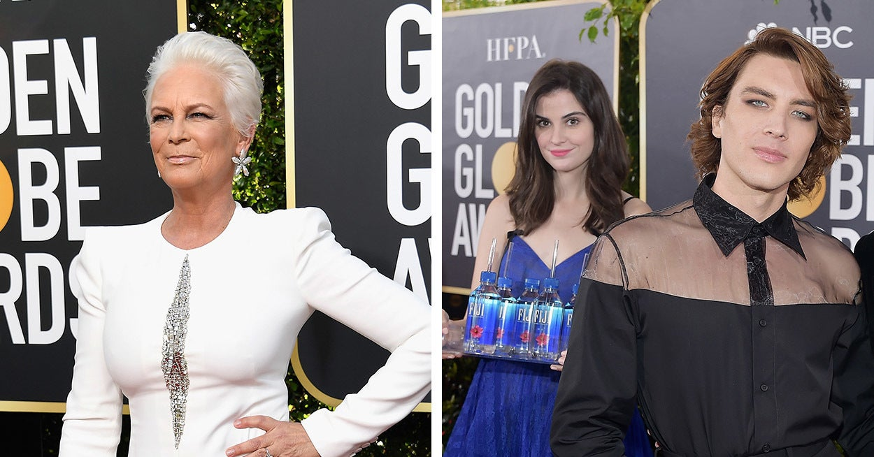 Jamie Lee Curtis Just Dragged The Fiji Water Girl For