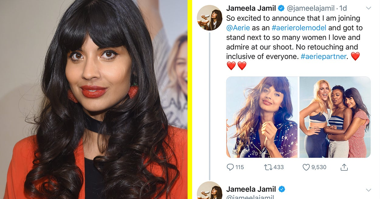 Jameela Jamil Is Being Dragged For Saying Her New Ad Campaign Is