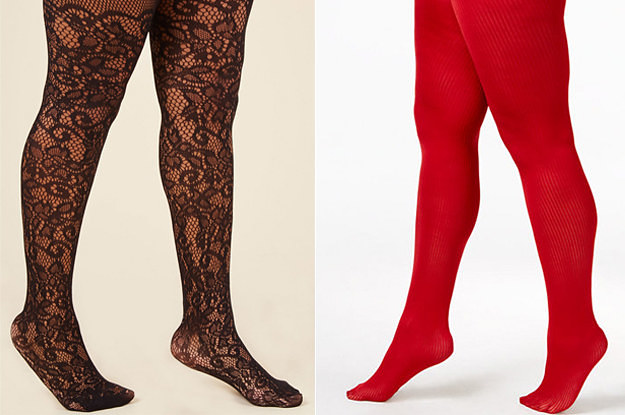 ebf2aee179d 19 Pairs Of Plus-Size Tights That People Actually Swear By