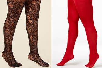 108d2a5bfd8b9 19 Pairs Of Plus-Size Tights That People Actually Swear By