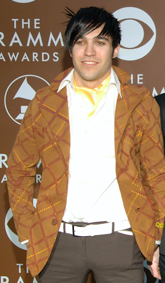 And then Pete Wentz, the lyric-writing, bass-playing icon and face of emo-boys everywhere