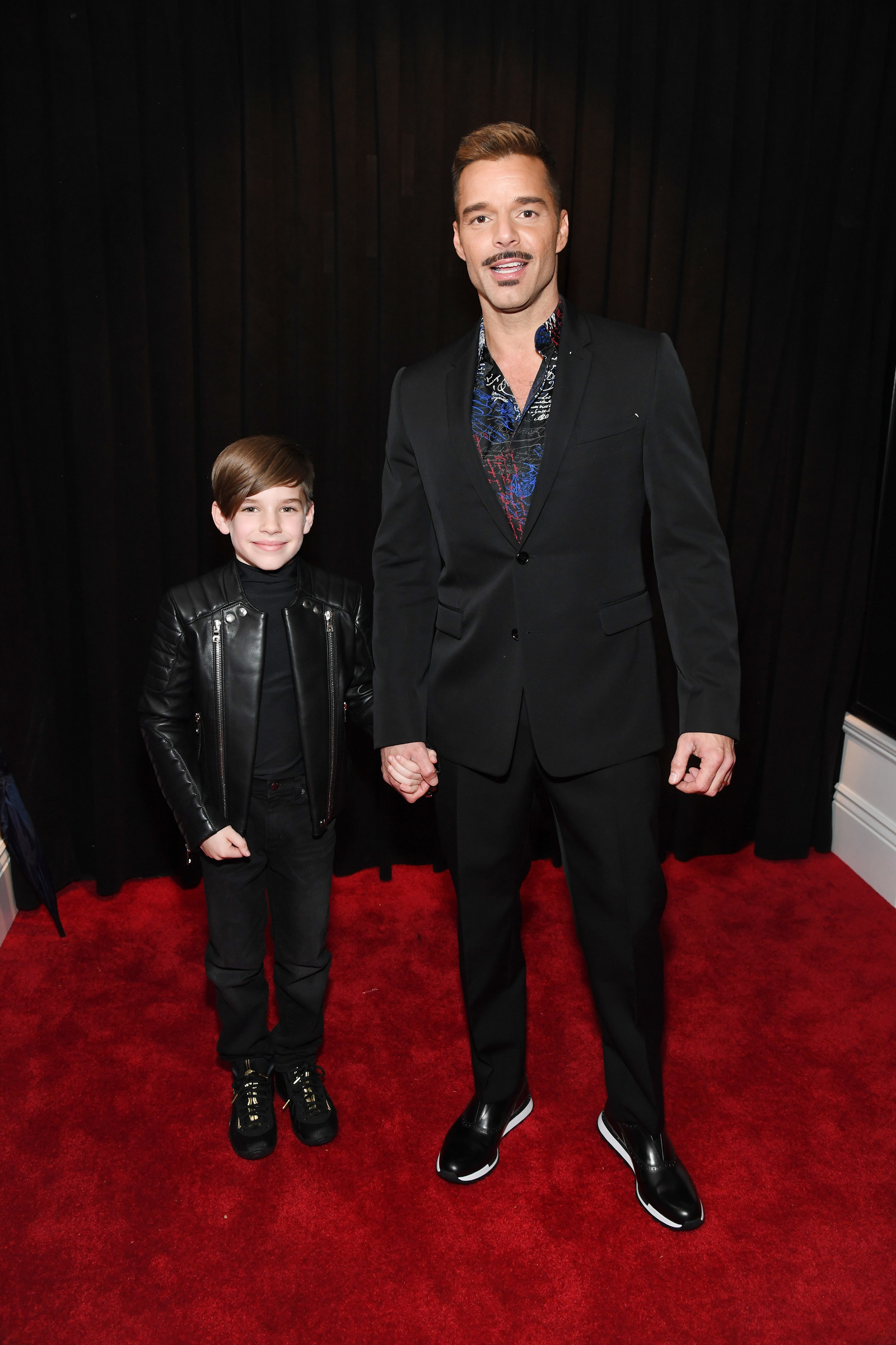 In case you need a pick-me-up, let me present to you: Ricky Martin and his 10-year-old son Matteo at the Grammys.