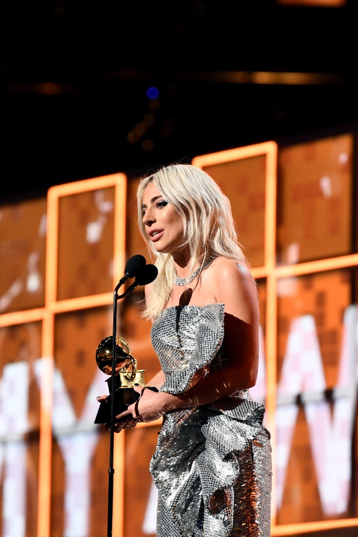 Gaga won for Best Pop Solo Performance, Best Song Written for Visual Media, and Best Pop Duo/Group Performance.