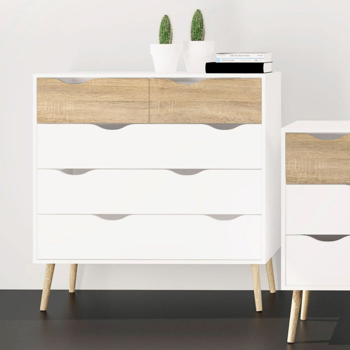 """Promising review: """"I absolutely loooove everything I purchased. However, with this one there were so many pieces. I wish the instructions were easier to put together. If we could pay extra for it to come out together I would pay that extra fee. But I love it. We put the dresser in my son's room."""" —KBPrice: $137.42 (available in two colors, assembly available for $105)"""