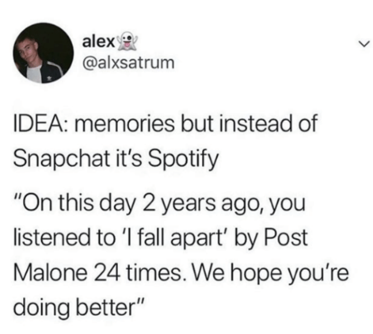 someone who says spotify should have an on this day feature