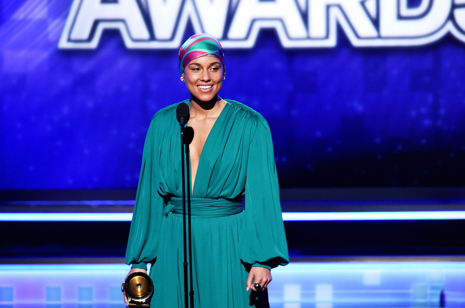 ICYMI, Alicia Keys was the host of the Grammy's this year.