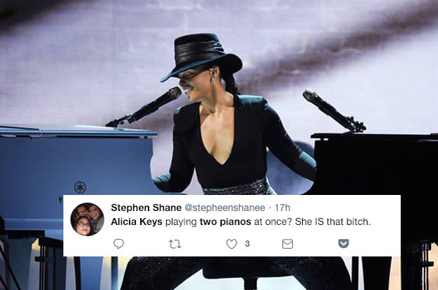 Alicia Keys' Dual-Piano Performance At The Grammy's Was Amazing And We Need To Talk About It