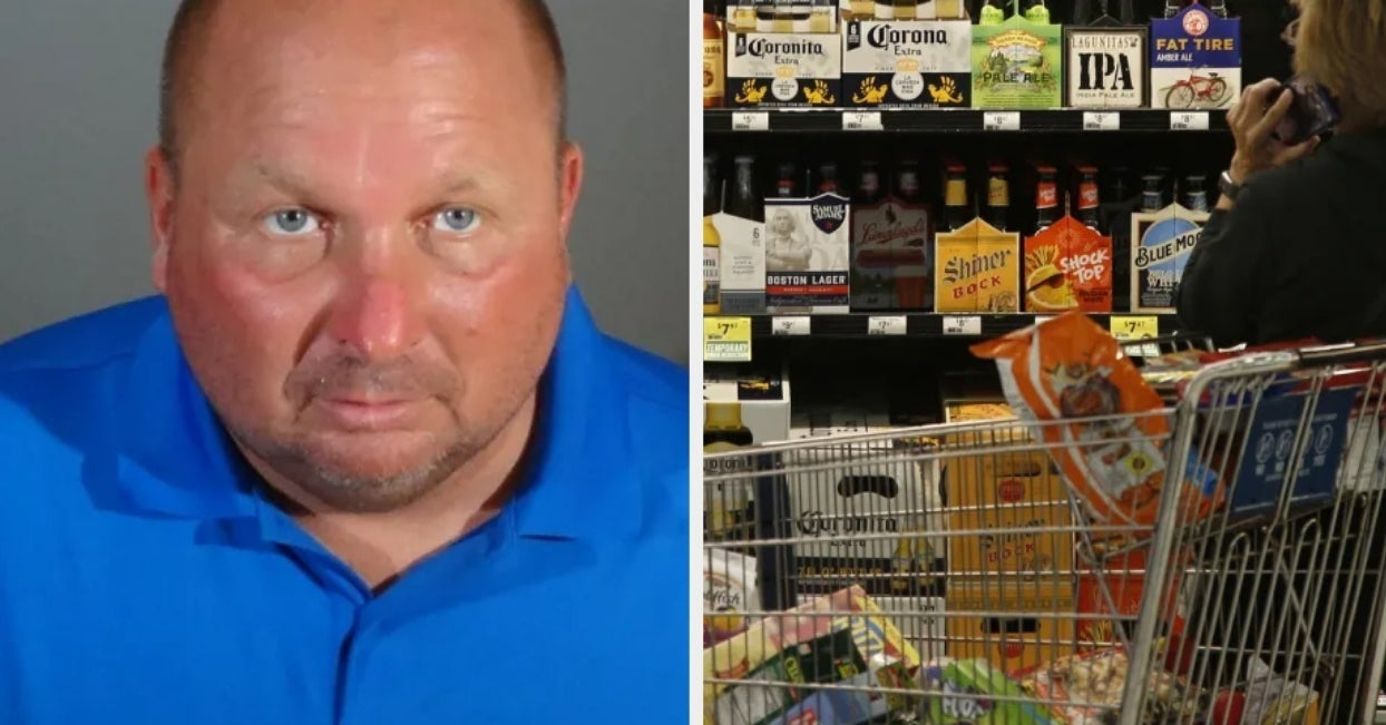 A Man Allegedly Secretly Poured Chemicals On Food And Beer At Multiple Grocery Stores