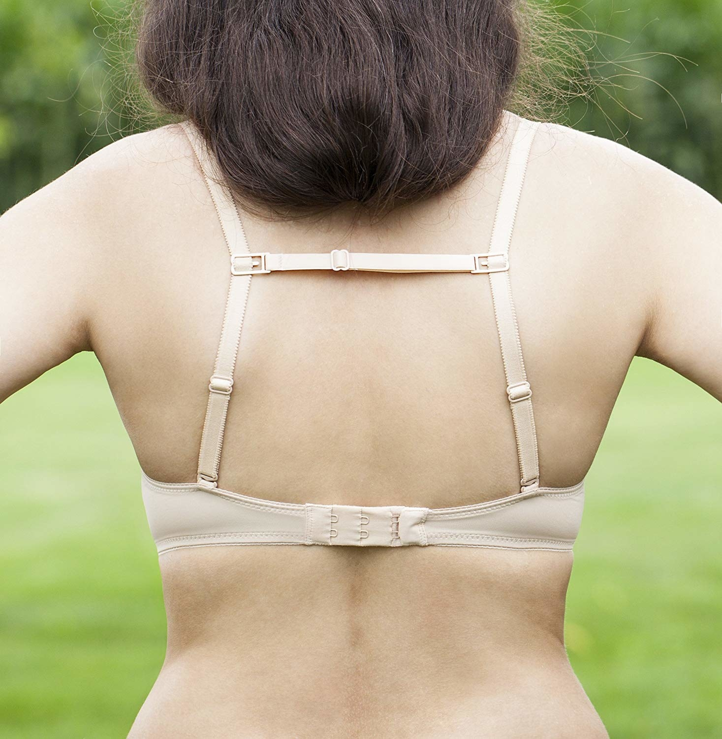 """Promising review: """"My bra straps spend more time off my shoulders than on — but NOT ANYMORE. I was hoping something like this existed and when I found it, I was so happy. They're as glorious as I expected them to be. These are life-changing."""" —Amanda Get a set of three from Amazon for $5.97 (available in six colors)."""