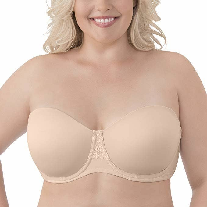 be2568bfa552a An unlined underwire bra that ll smooth your sides and back while providing  the ultimate support. Promising review  ...