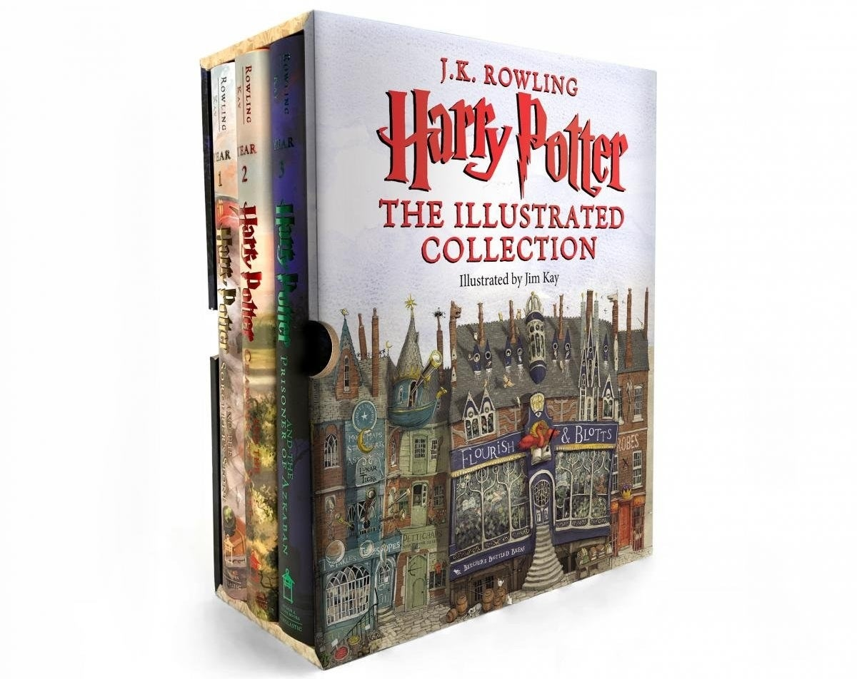 "Promising review: ""This book set is absolutely beautiful!! I bought it to start reading the series to my children over the holidays but it has really been a treat for ME! I love the weight of each book and the quality of the thick, glossy pages. There are only illustrations every few pages or so, which I prefer, as I want my children to use their imagination as I read the story vs. having them see pictures everywhere. The illustrations however are very detailed and well done. Overall, not a cheap purchase but definitely worth it — and something you can keep for generations and pass on. Simply gorgeous!"" —NYC Picky Buyer Price: $73.28"