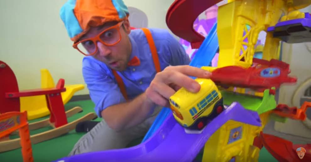 """266e0d1ae162 Kids YouTube Star """"Blippi"""" Previously Made A NSFW Viral Harlem Shake Poop  Video"""