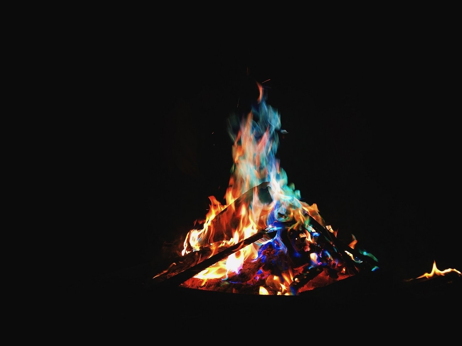 "Promising review: ""These little packs are so awesome! Love to use when we have bonfires, creates some very beautiful colored flames. So easy to use, just toss the whole pack into the fire and sit back and be amazed!"" —j ruttinger Price: $31.95 (for 50)"