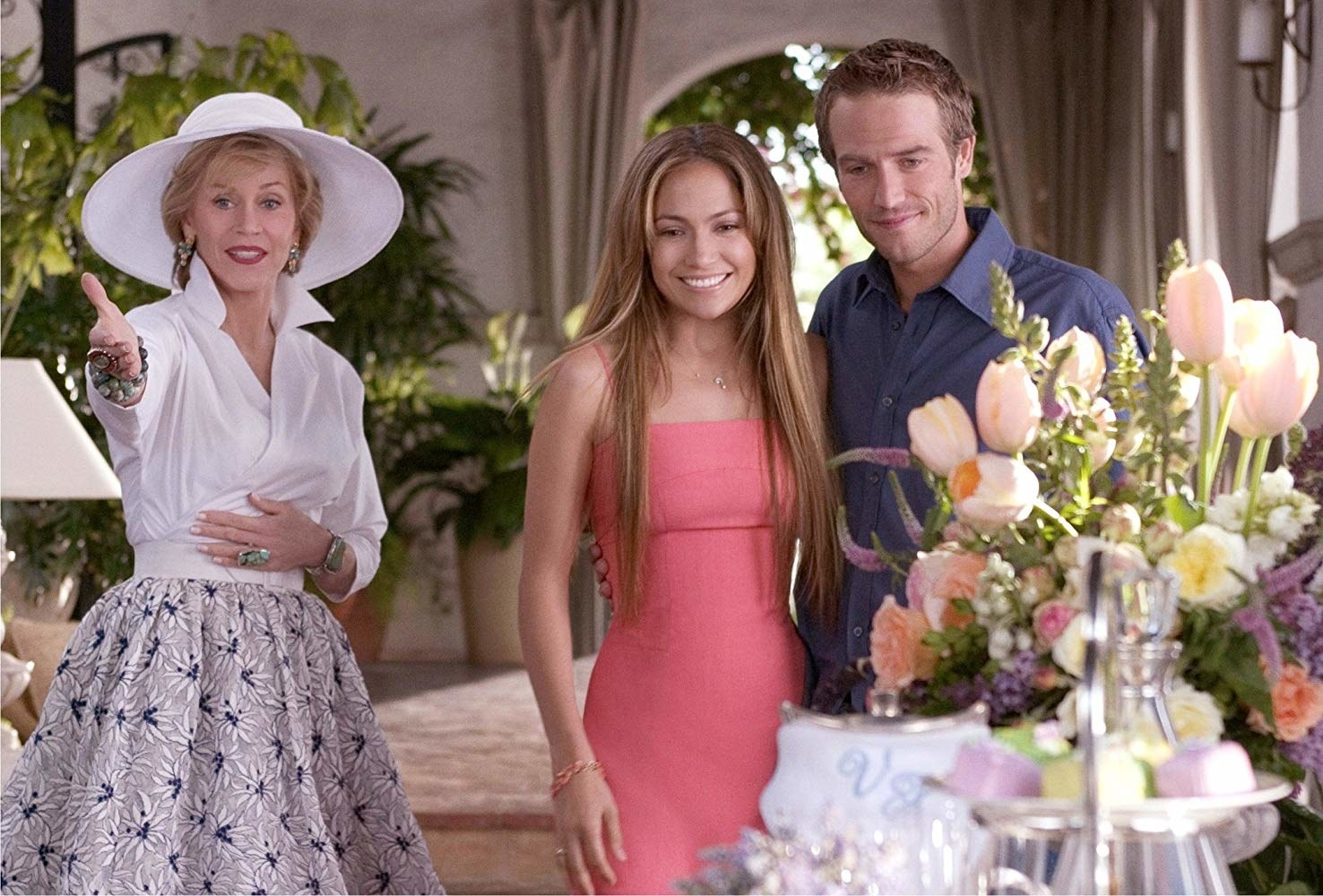 Monster-in-Law  - The premise:  The bride, played by Jennifer Lopez, thinks that her dream wedding is finally happening, until she hits a bump in the road: her mother-in-law, played by none other than Jane Fonda. Fun fact: some of the events in the movie are inspired by Fonda's own life!