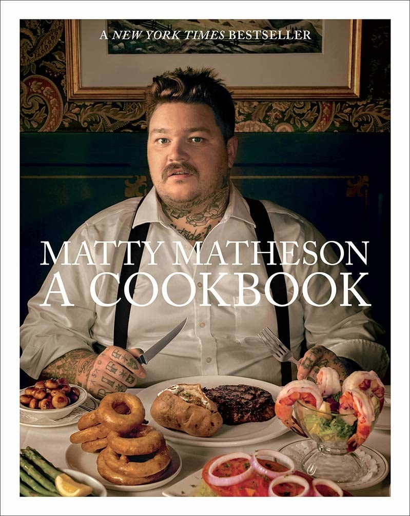 """Promising review: """"If you like watching Matty on YouTube, then you will love this book. It has everything from bologna bowls that take 60 seconds in the microwave, to exquisite seafood dinners that take all day to prepare. The short stories that Matty has behind every dish are funny yet touching, and the pictures are beautiful. I consider myself a subpar cook, but there is so much I can learn from this book with the very simple instructions that Matty provides."""" —nejanson9Get it from Amazon for $23.79."""