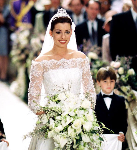 And finally,  The Princess Diaries 2: Royal Engagement  - The premise:  Mia can't wait to take her rightful place on the throne, but as it turns out, Genovian law requires that she be married before she can become queen. Cue a national crisis to find her a prince — and lots of wisdom getting dispensed by Julie Andrews.