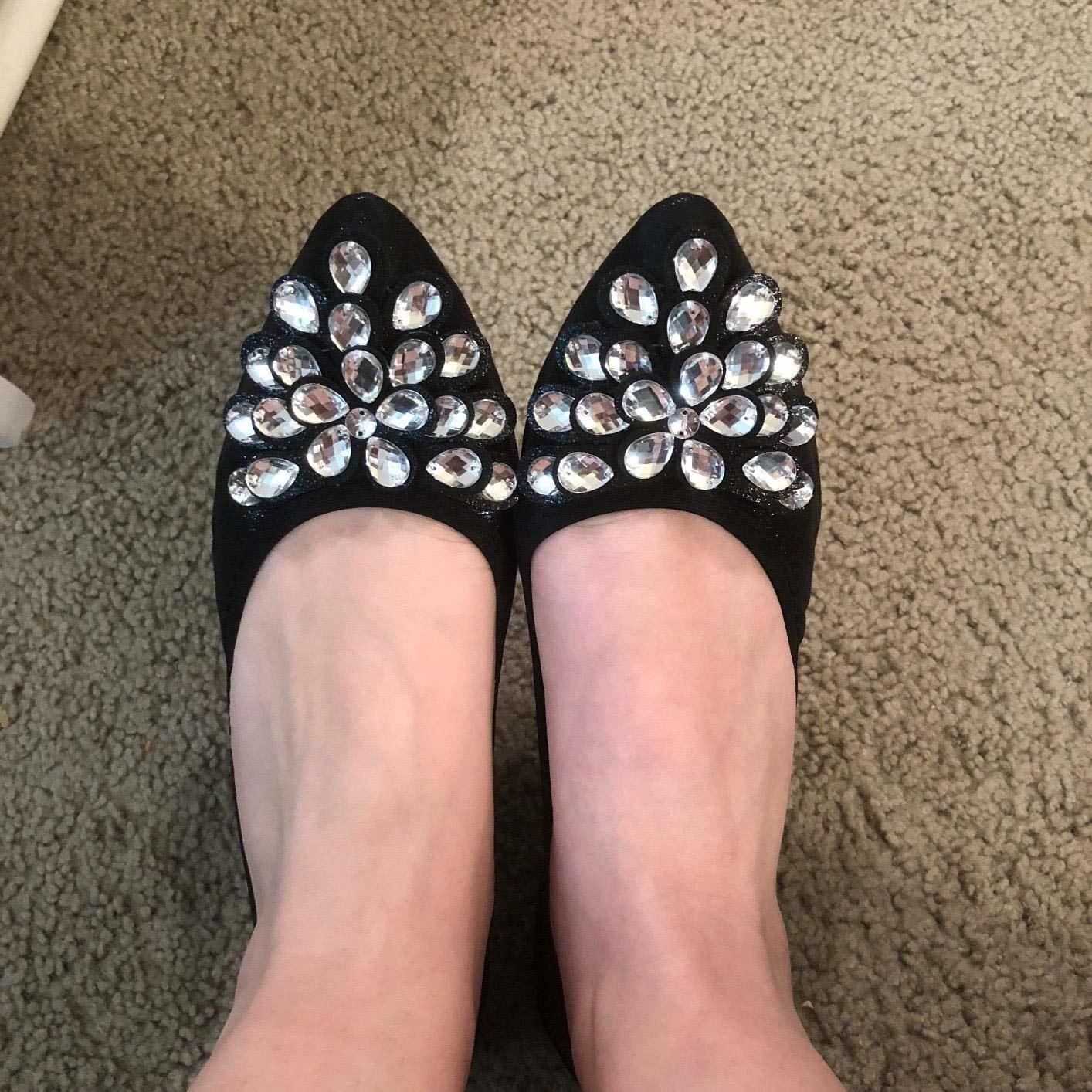 Guess Womens Shoes Heel Sandal Wedge Slip-on Sparkle Summer Platform Flip Flops