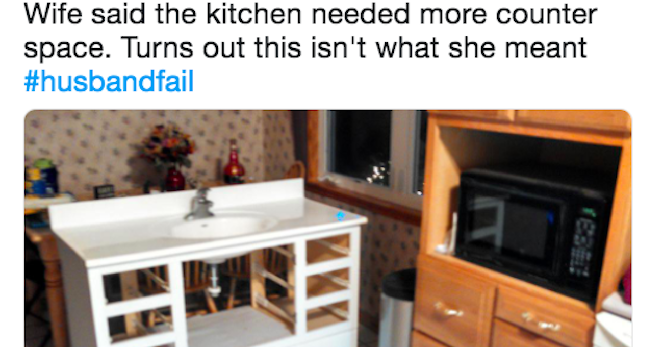We Want To Know Your Husband's Funniest Fail