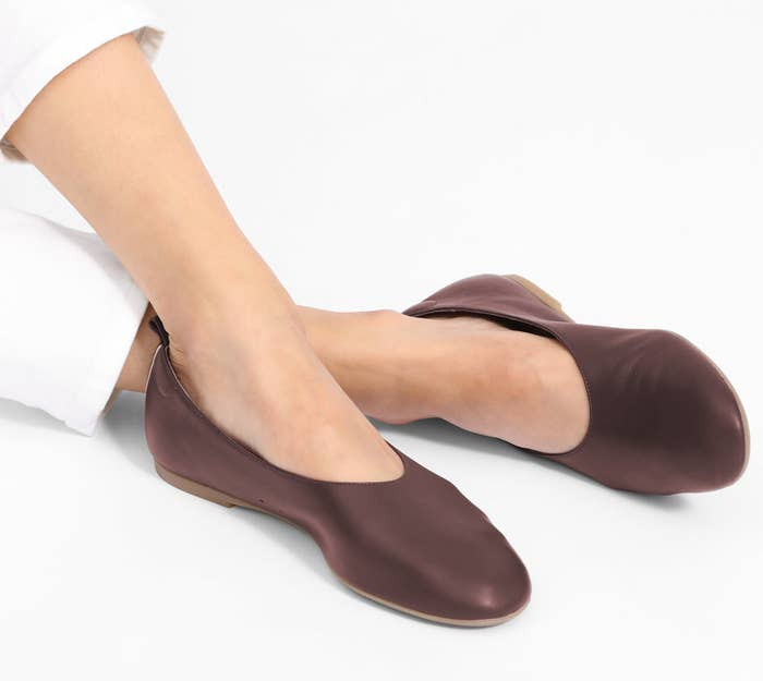 834c4343c81 30. Everlane flats made of 100% Italian leather whose glove-like fit will  make you feel practically barefoot as you pirouette spontaneously.