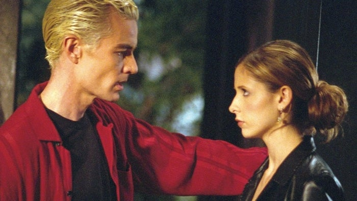 """Who doesn't love a torrid love affair?? Spike and Buffy are the EMBODIMENT of """"hate to love."""" I don't want to like them, yet, at the same time, I'm like, """"Angel who?"""""""