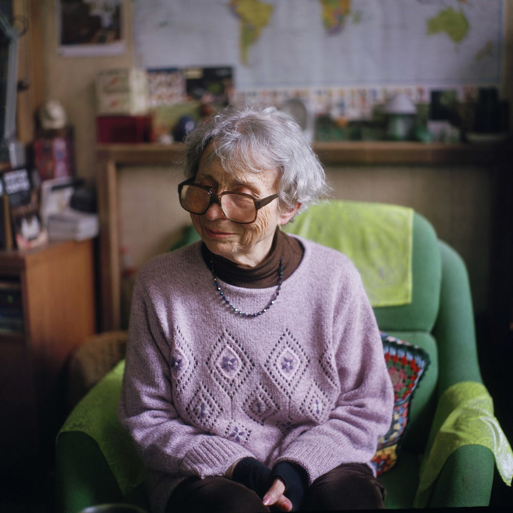 Lily, 82, from Paris, identifies as asexual and heteroromantic.
