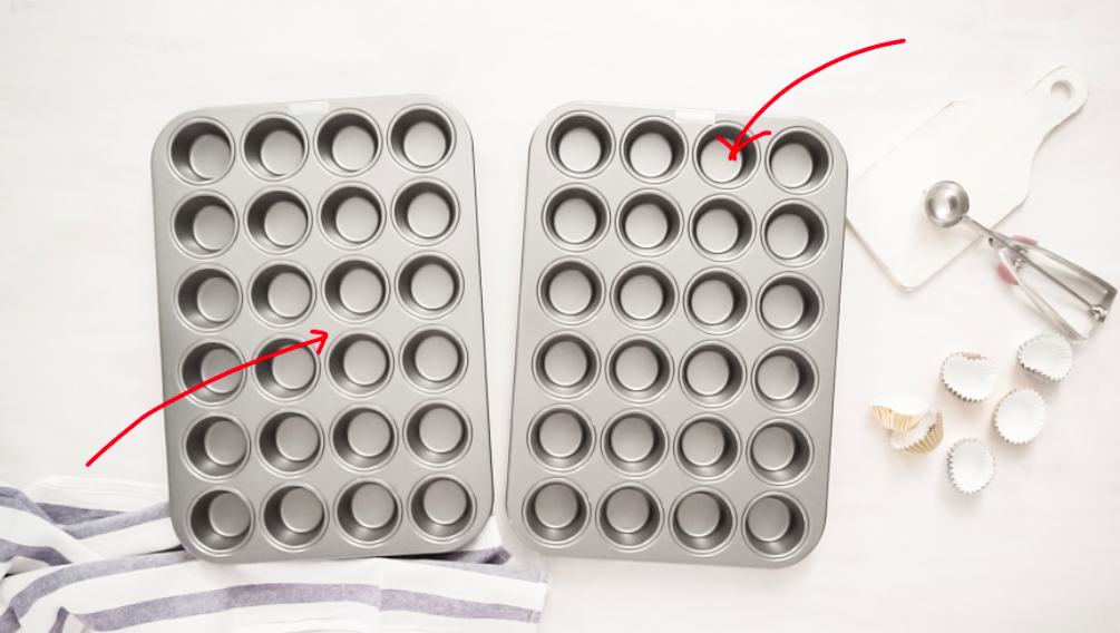 A few years ago, Brown posted a recipe for baked meatballs that cooked them in the cups of a mini muffin tin — a trick that ~I'm assuming~ helps crisp them up due to the metal heating up all around them.