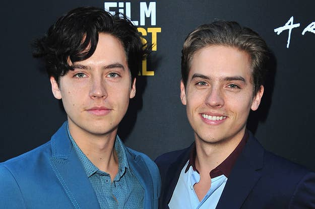 Cole Sprouse And Adam Sandler Had A Big Daddy At The