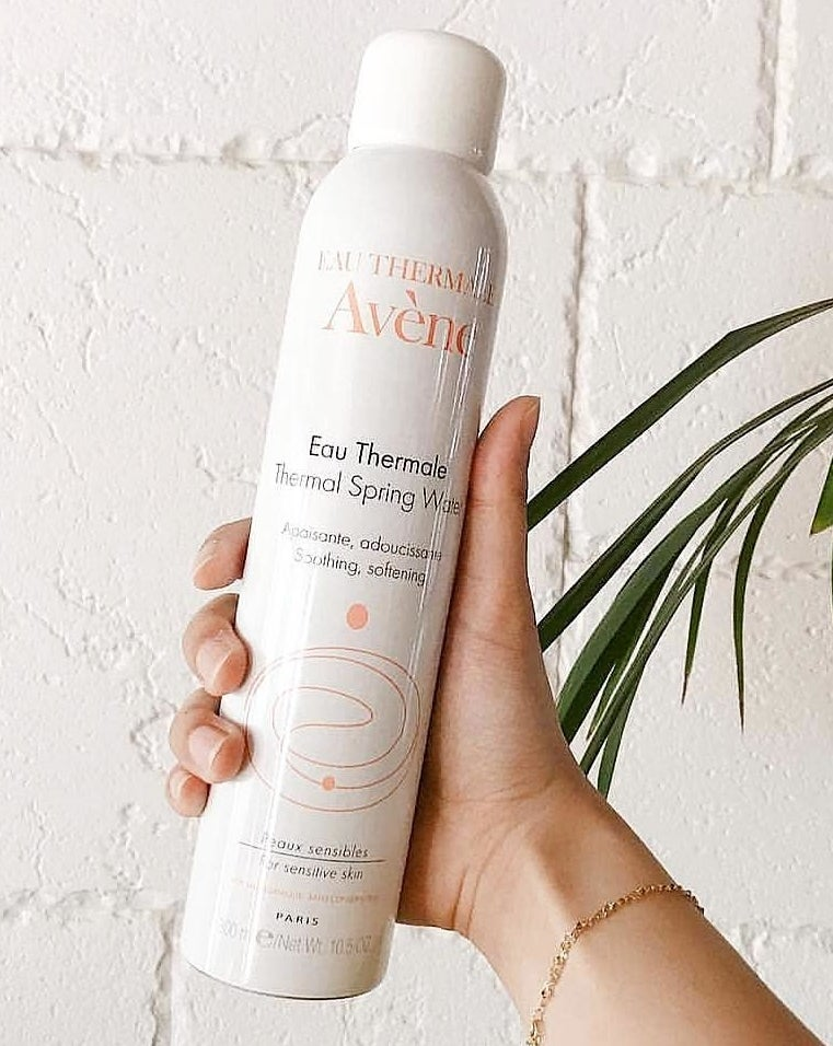 """Promising review: """"Its.....a can of thermal spring water. I don't know what else is in it and I don't really care, because it works. I had initially received one in my Ipsy bag and fell in love with it right away. This is great for calming sensitive skin, sunburn, any type of skin irritation, cooling down from being overheated (put it in the fridge for awhile and it feels AMAZING), or even just setting your makeup if it's looking too matte. If you have rosacea, this is a miracle product and you should buy it immediately."""" —SPO77Get it from Amazon for $9+ (available in four sizes)."""