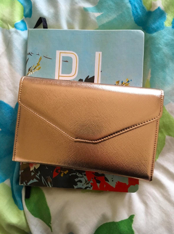 same wallet folded up and closed