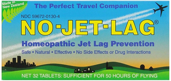 """Promising review: """"This stuff is a game changer for travelers. I am a person who gets extremely lethargic after traveling (especially on flights to/from Europe). This changed my life. I normally have to fly in an extra day early from my planned travel days, solely so that I can get enough rest and be ready for the next day. I can now take these and on landing be prepared for a full day of activities. When I took a group of 40 students to Europe this summer, I had them order this product also and all of them felt great. No problems with it at all. HIGHLY recommended for anyone traveling on long-haul flights."""" —AllysonGet it from Amazon for $9.10."""