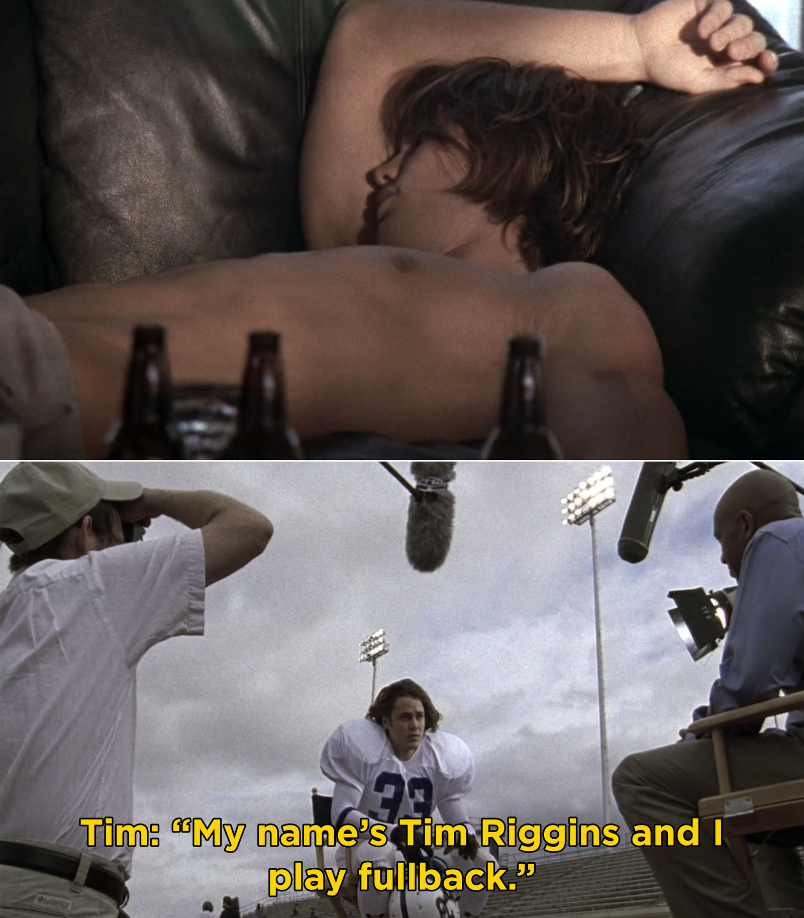 "Tim Riggins from  Friday Night Lights  -  ""If you tell me you didn't immediately love Tim Riggins when he showed up to practice half-drunk, you're a liar.""  — jgk567"