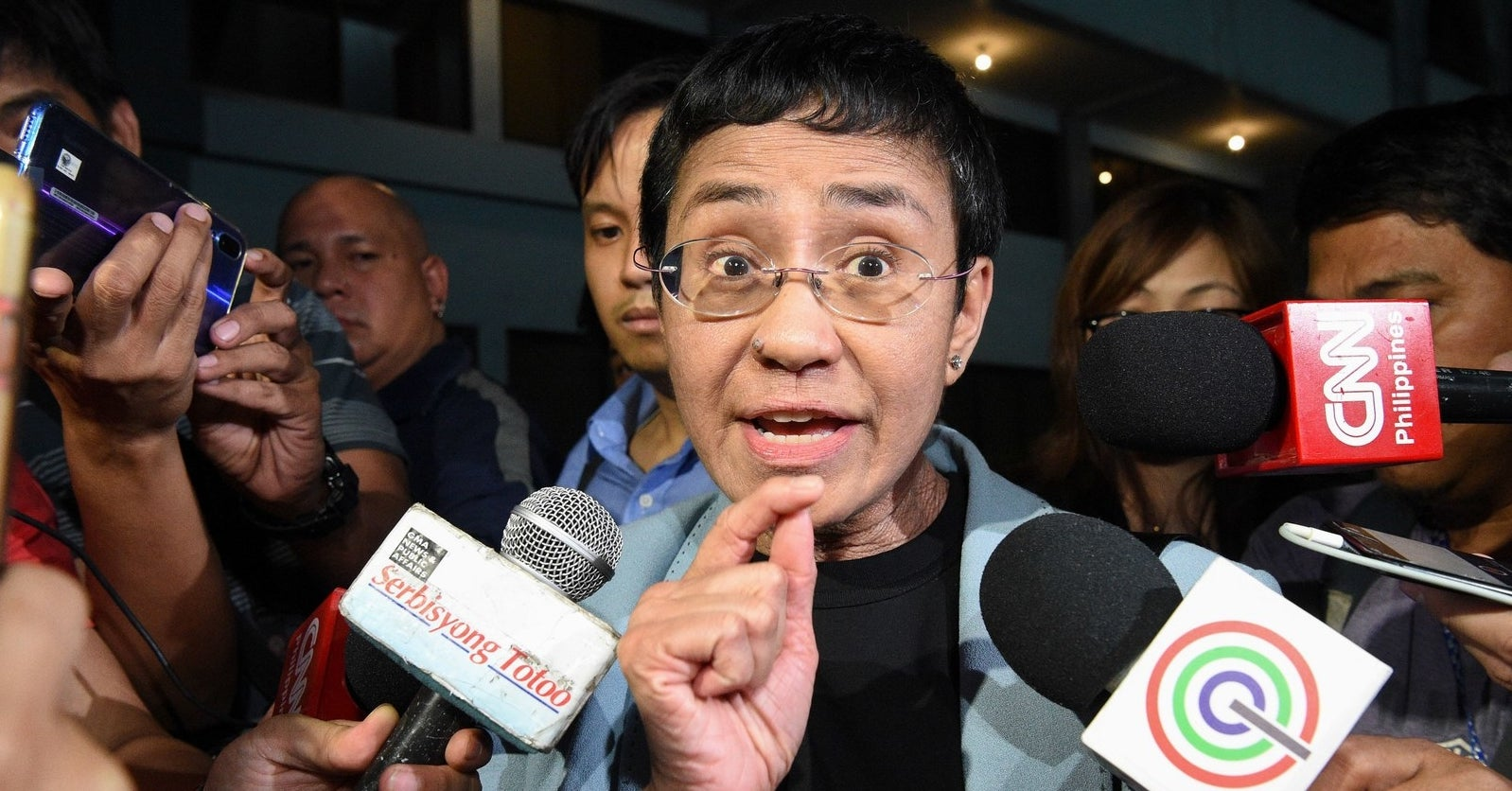 A High-Profile Journalist And Critic Of The Philippine President Has Been Arrested