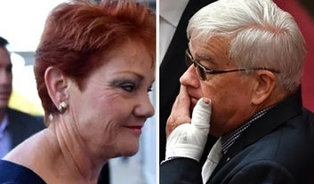Brian Burston: I Don't Recall Wiping Blood On Pauline Hanson's Door, But It Was Me