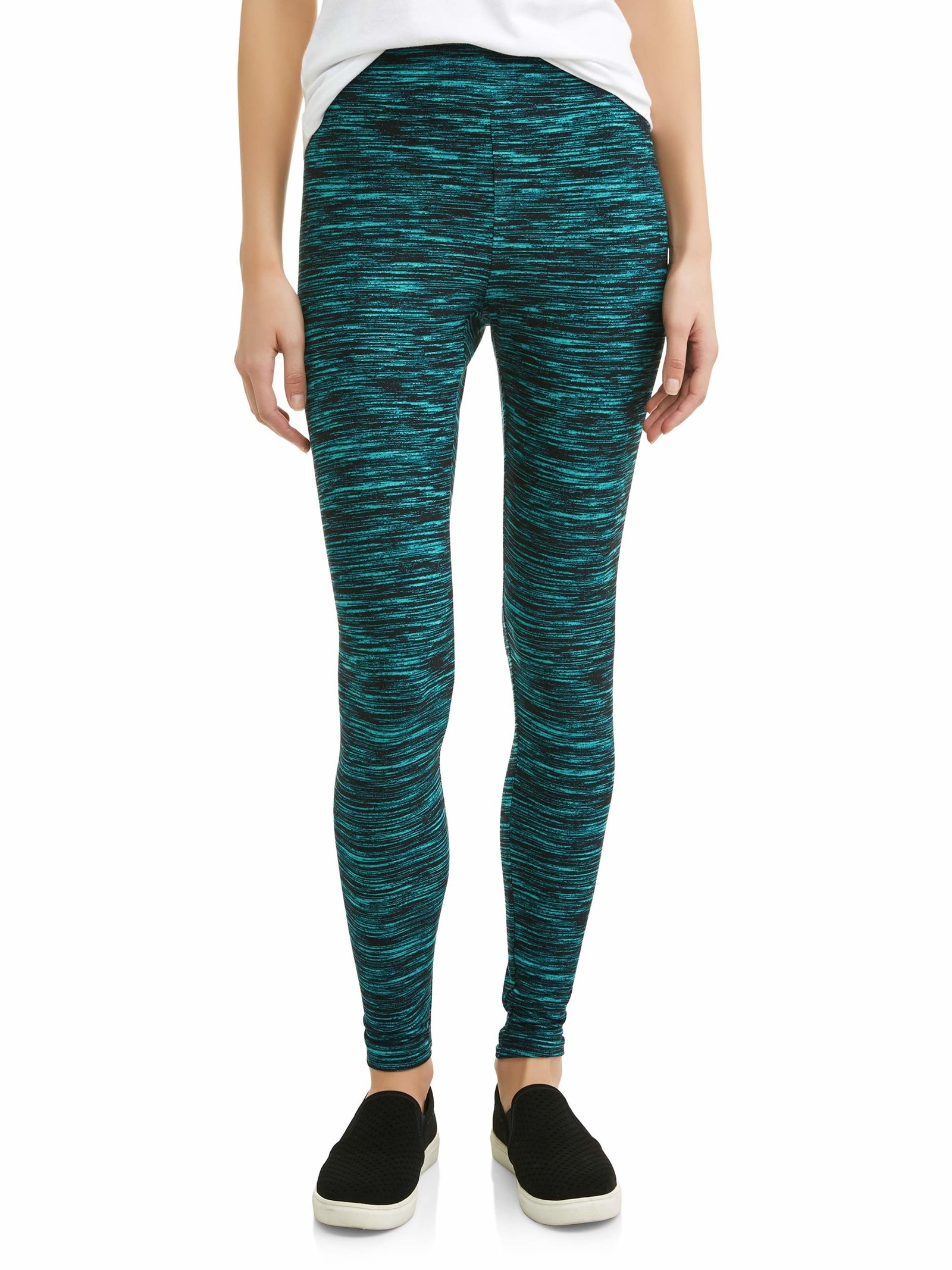 0404c8a326f357 Fun printed leggings you might just ditch all of your pants for, so you  probably want to stock up on all of the colors. Walmart