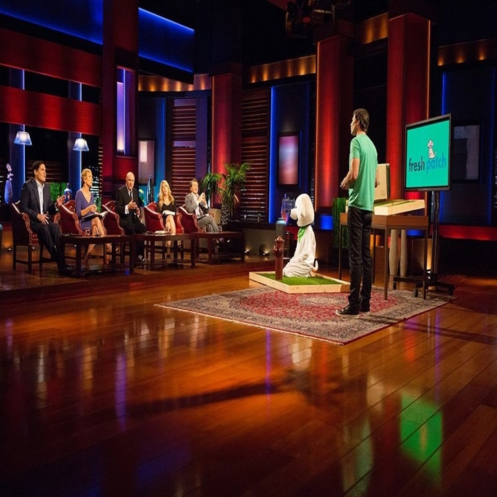 the product being pitched on Shark Tank