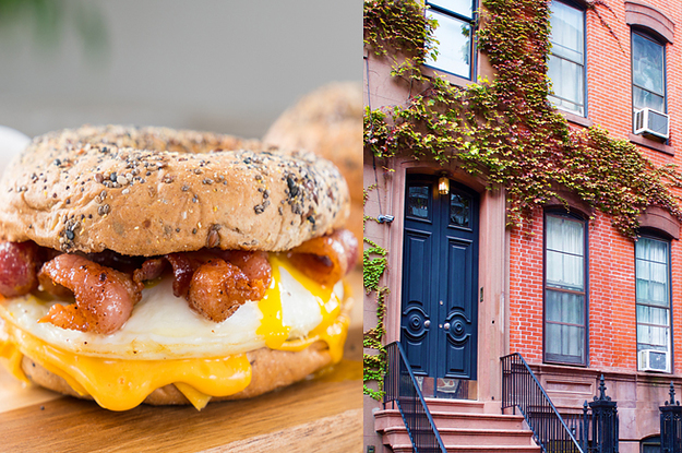 Where Should You Live In NYC Based On Your Favorite Foods?