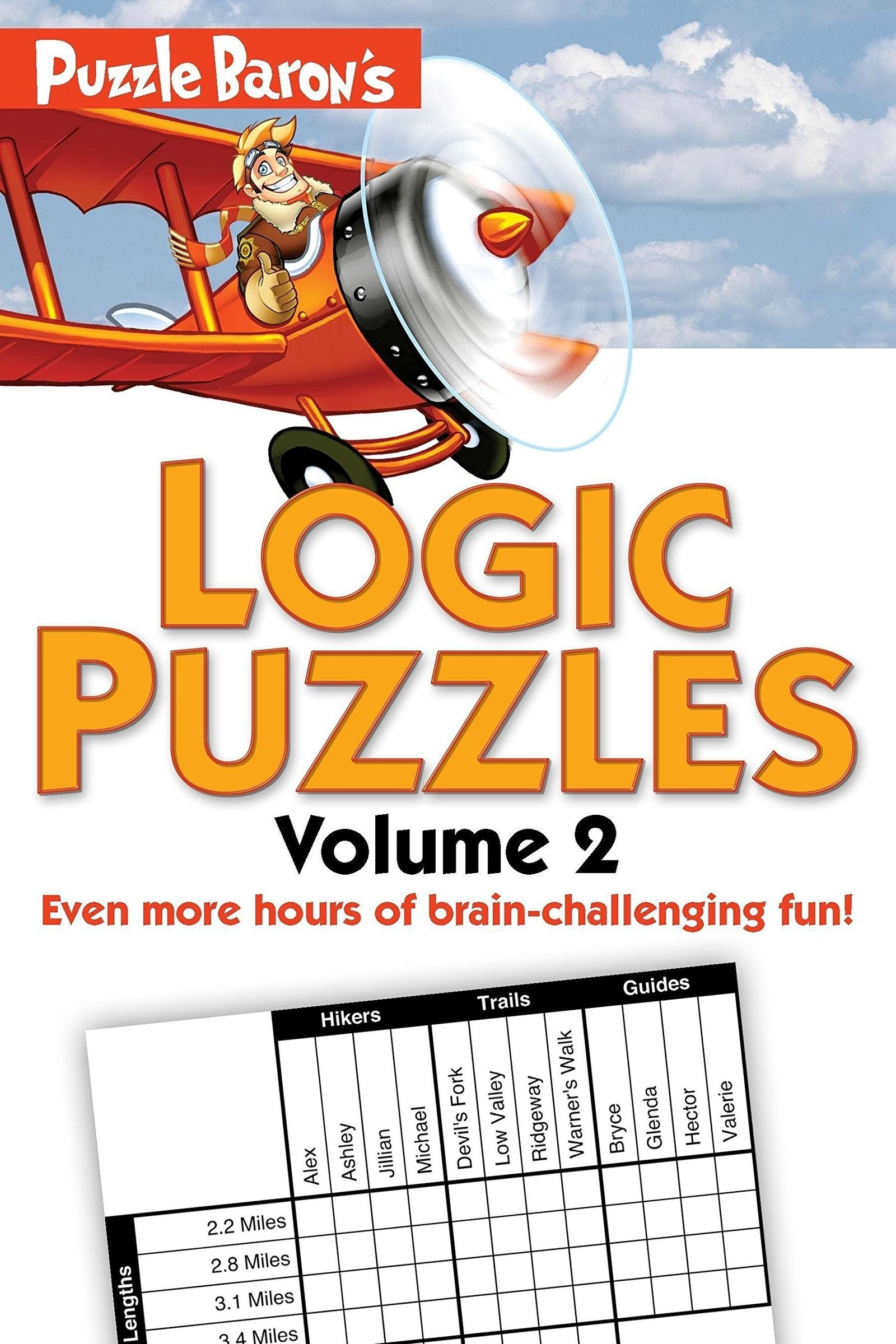 cover of Puzzle Baron's Logic Puzzles, Vol. 2