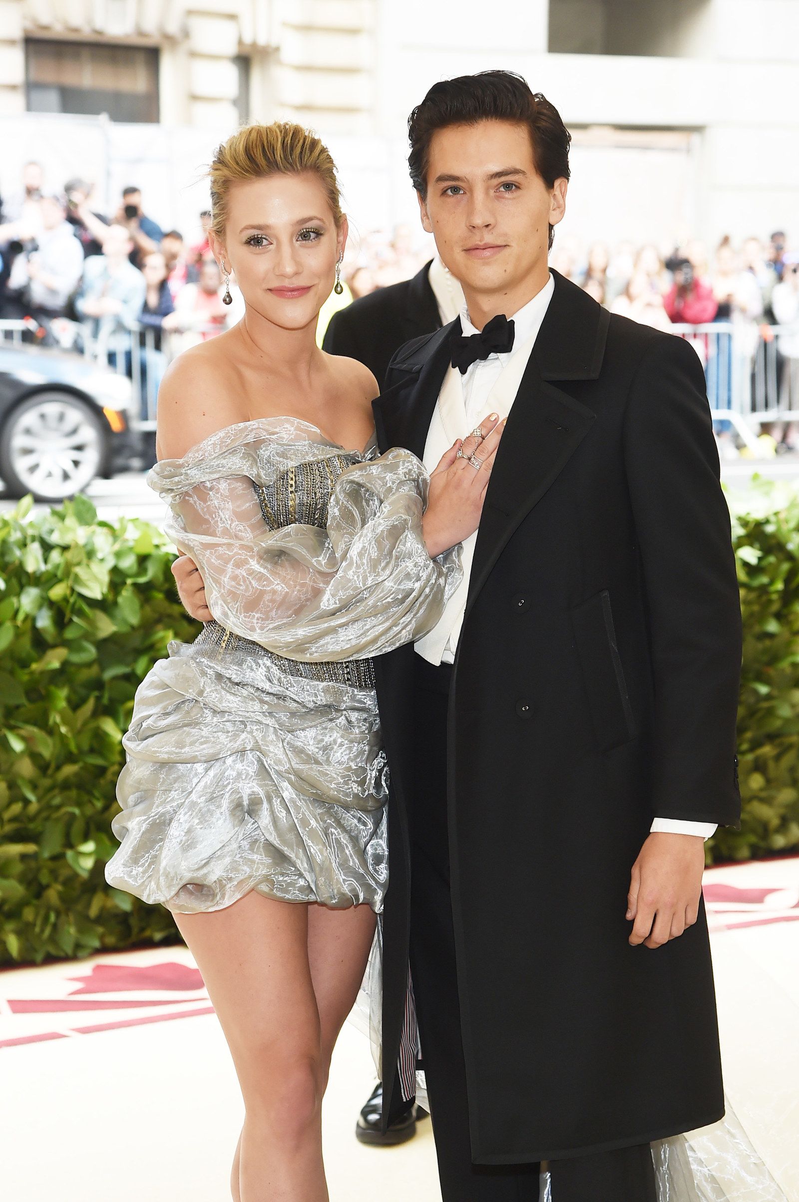At this point, Lili Reinhart and Cole Sprouse have blessed our timelines with so much adorable couple content, that it's hard to believe they hadn't even made  their Met Gala couple debut  at this point last year.