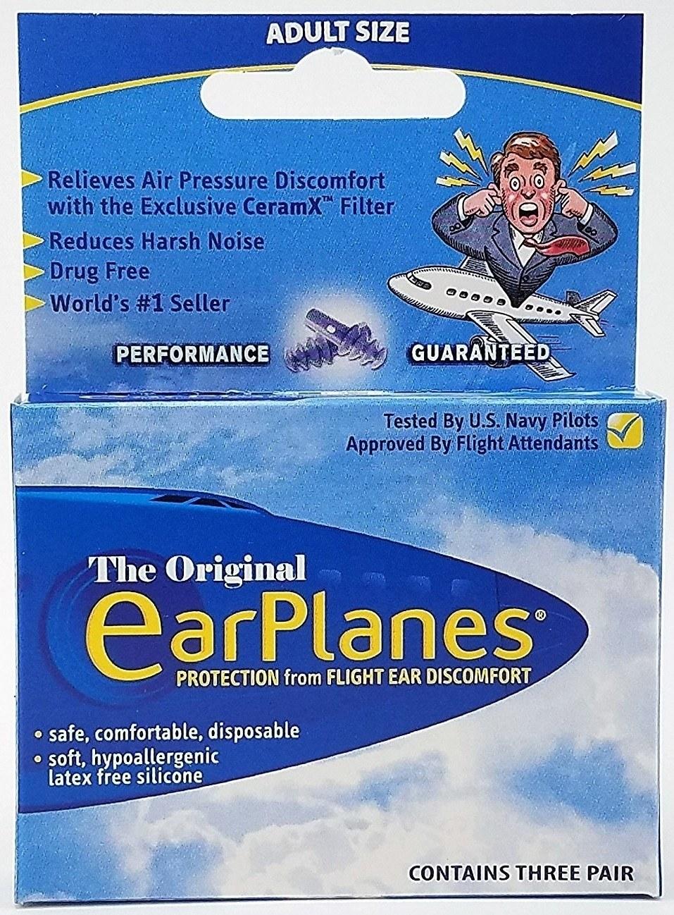box of The Original EarPlanes plugs