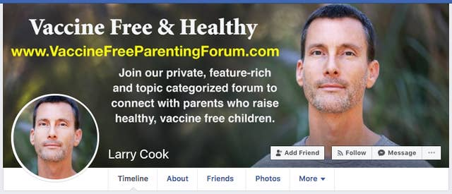 Anti-Vaccine Facebook Page Uses Advertisements To Build Large Audience