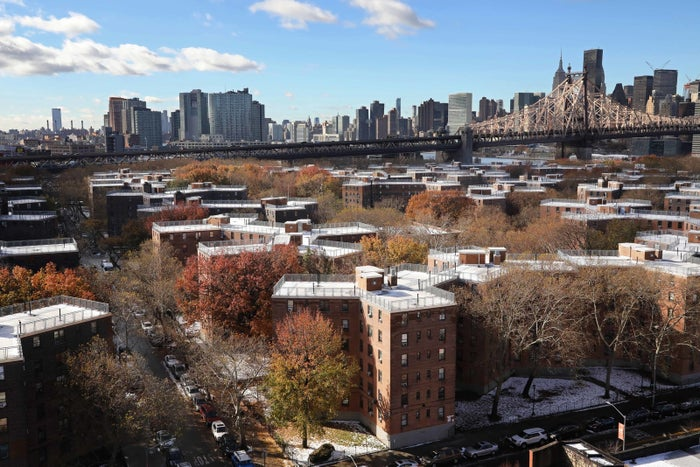 The Queensbridge Houses, located close to where Amazon planned to build a new corporate campus.