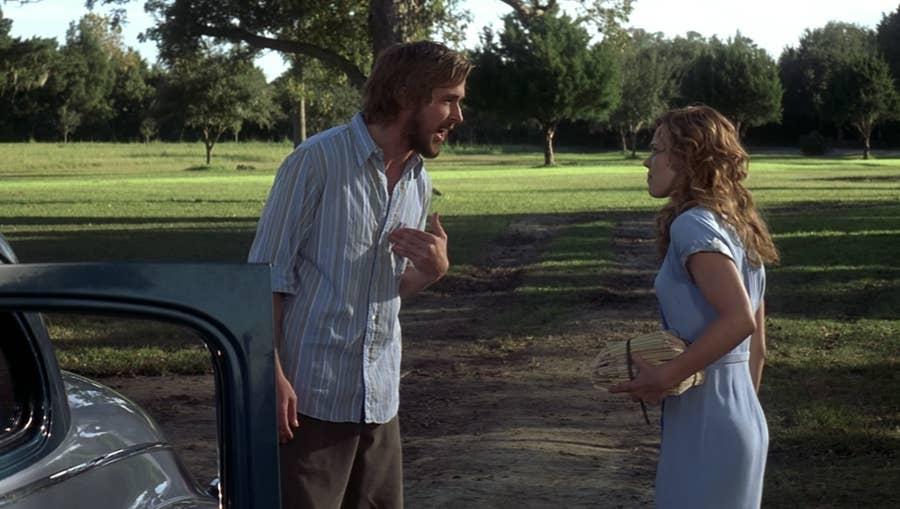 Allie y Noah de 'Diario de una pasión' son una pésima pareja... Mira,  fíjate, observa, date cuenta