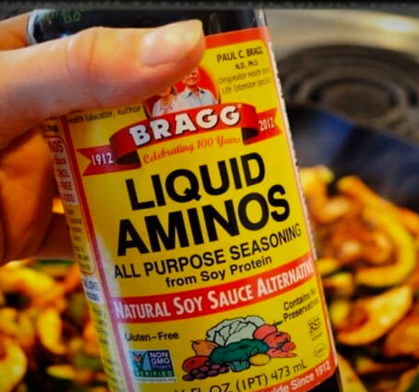 Sauteeing or roasting in oil isn't the only way to cook vegetables. Next time you have a head of broccoli, chop it up and cook it in some water, lemon juice, and half a tablespoon of liquid aminos. For those not in the know, liquid aminos is a gluten-free, sweet, soy sauce-like seasoning. It's super low in calories, high in flavor, and every vegetable lover's secret sauce. Get a 6 oz. bottle from Amazon for $7.04.