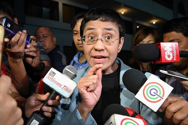 A High-Profile Journalist And Critic Of The President Of The Philippines Has Been Arrested
