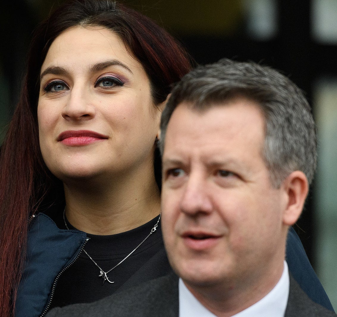 Labour MPs Luciana Berger and Chris Leslie