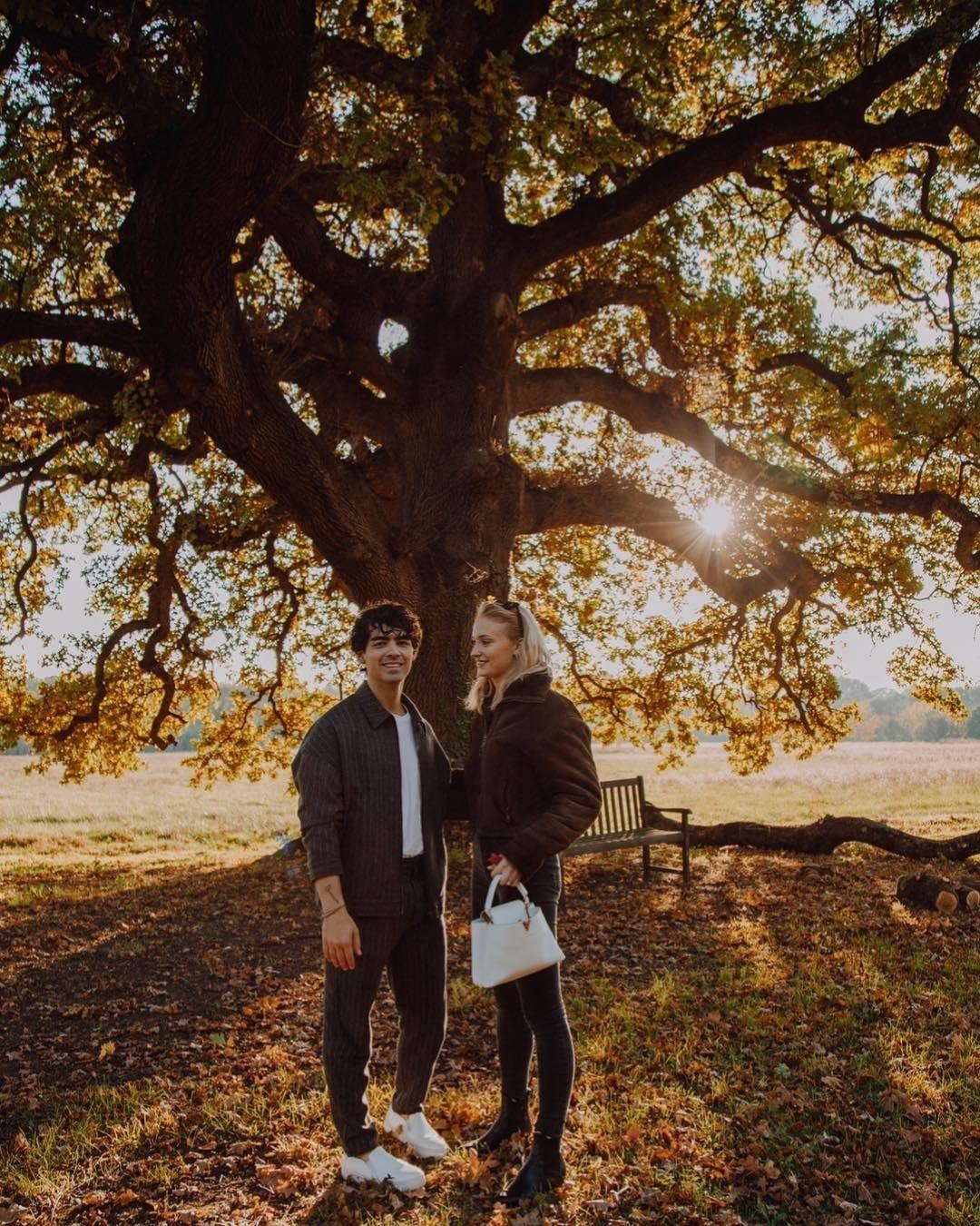 Sophie Turner told us her fiancé, Joe Jonas, makes her the happiest.